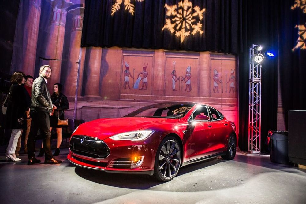 Tesla presents Affluent Attache Winter Wonderland