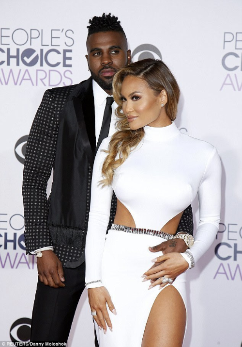 jason derulo daphne joy people choice awards