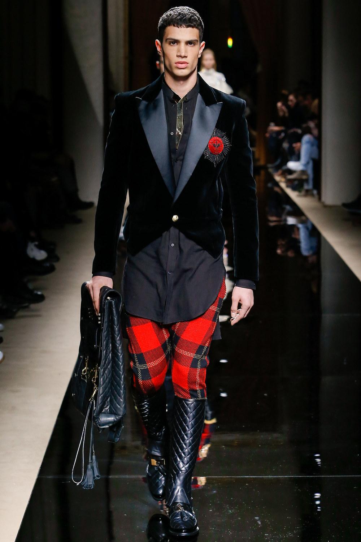 Balmain Menswear Fall 2016