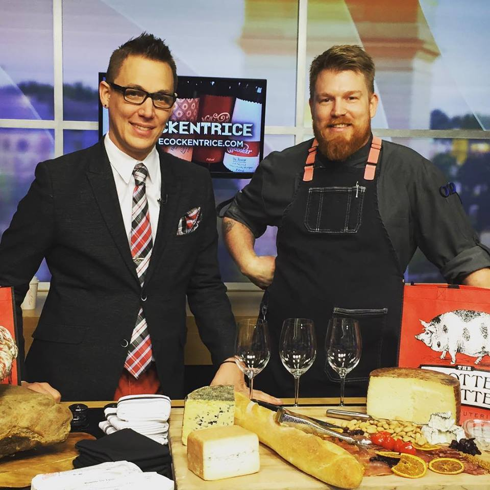 GM Clayton Morey & Chef Kevin Ouzts