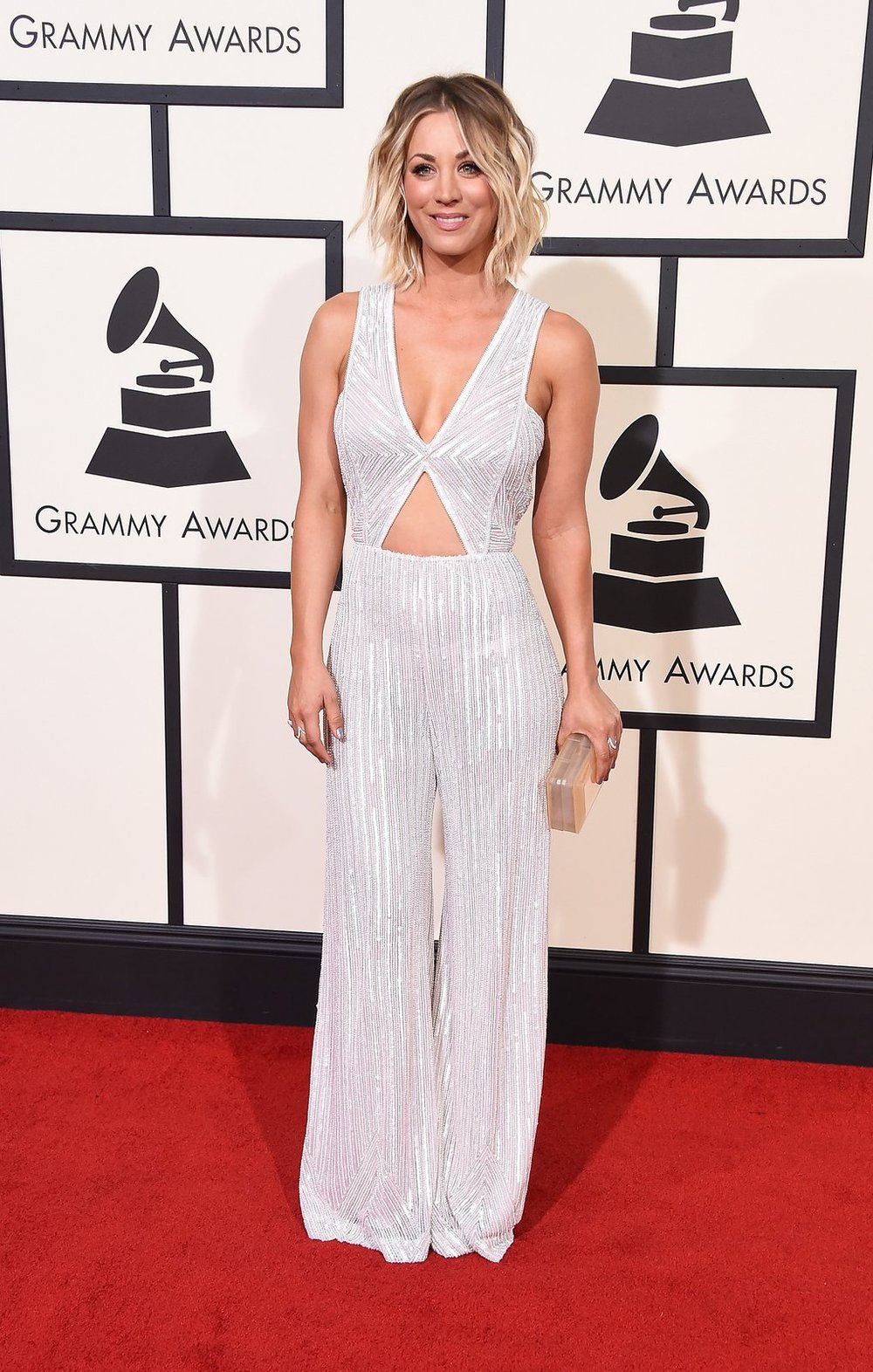 Kaley Cuoco in Naeem Khan