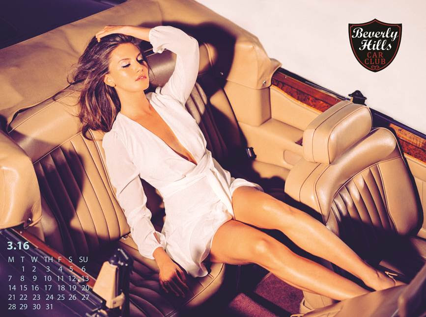 beverly hills car club calendar