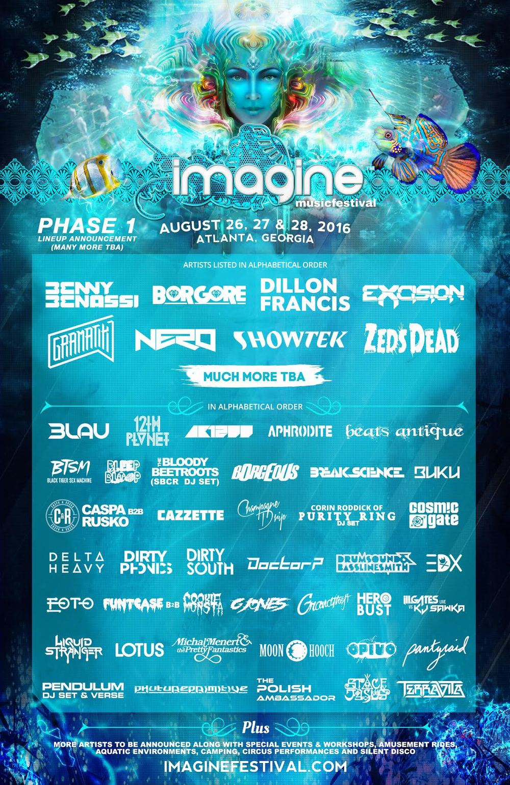 imagine music festival edm