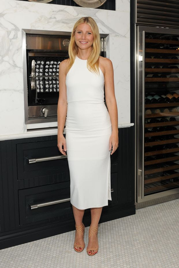 Gwyneth Paltrow in alice + olivia dress
