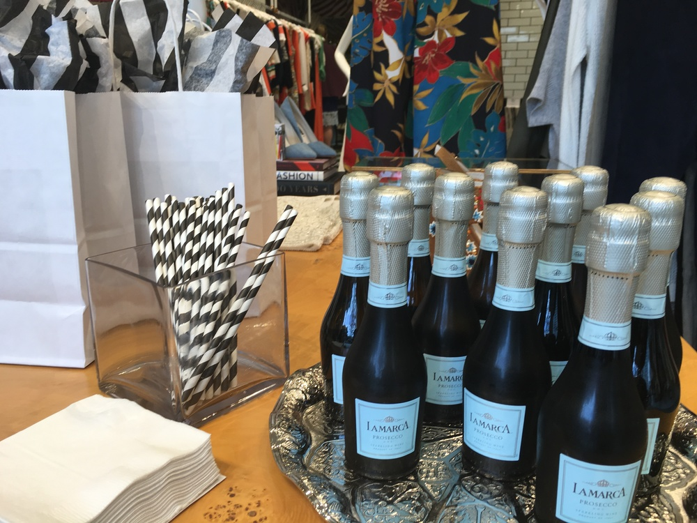 bubbles at Alice and Olivia By stacey bendet
