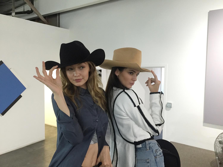 9275713b81f Kendall Jenner   Gigi Hadid s appointment at Gladys Tamez Millinery —  menswear womenswear fashion blog