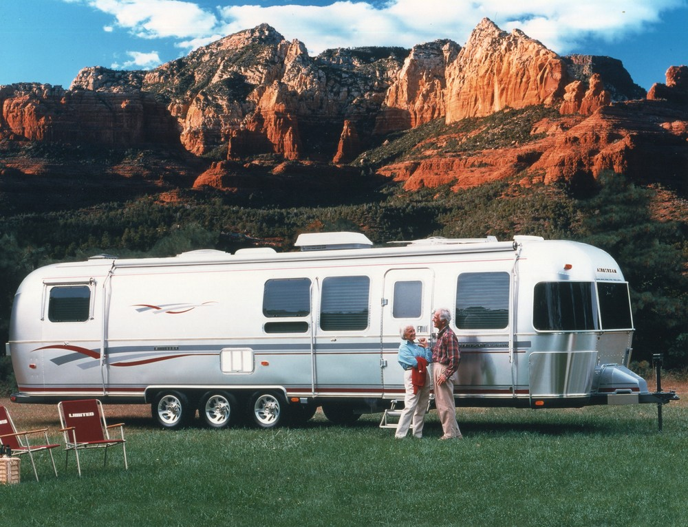 The most luxurious Airstream, the Limited, even came with folding chairs bearing the Limited name.