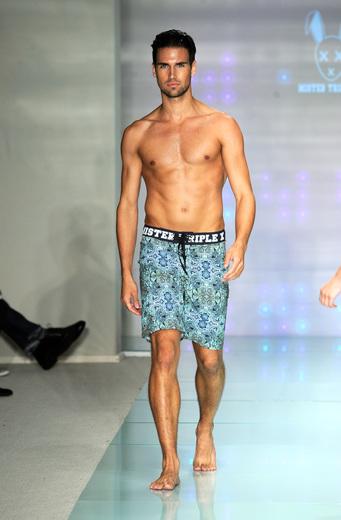 Mister Triple X At Art Hearts Fashion Miami Swim Week (BANDITS COLLECTION) With L.A.M.B. by Gwen Stefani Eyewear and Alejandra G shoes