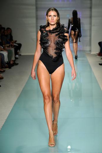 Rocky Gathercole At Art Hearts Fashion Miami Swim Week