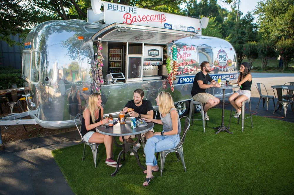 park tavern basecamp provisions airstream
