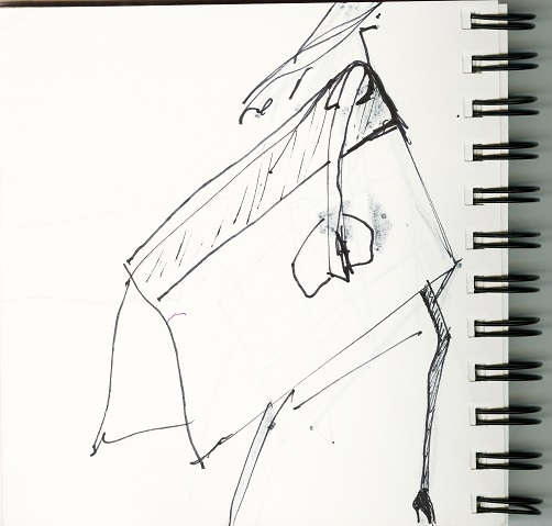 Narciso Rodriguez sketches