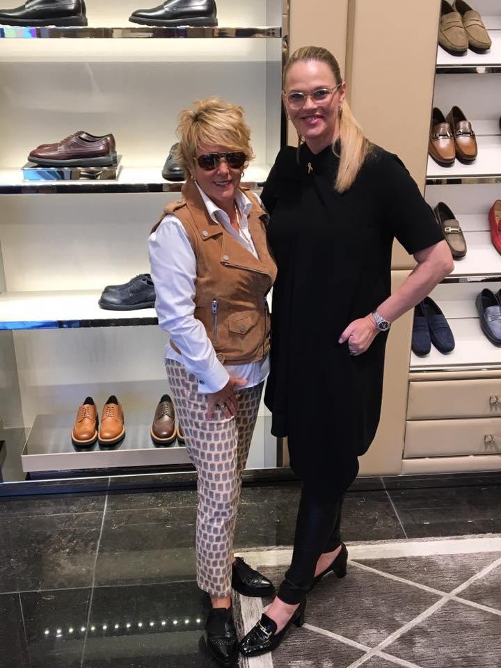 Sona Chambers with Tod's Atlanta GM Barbara Collins