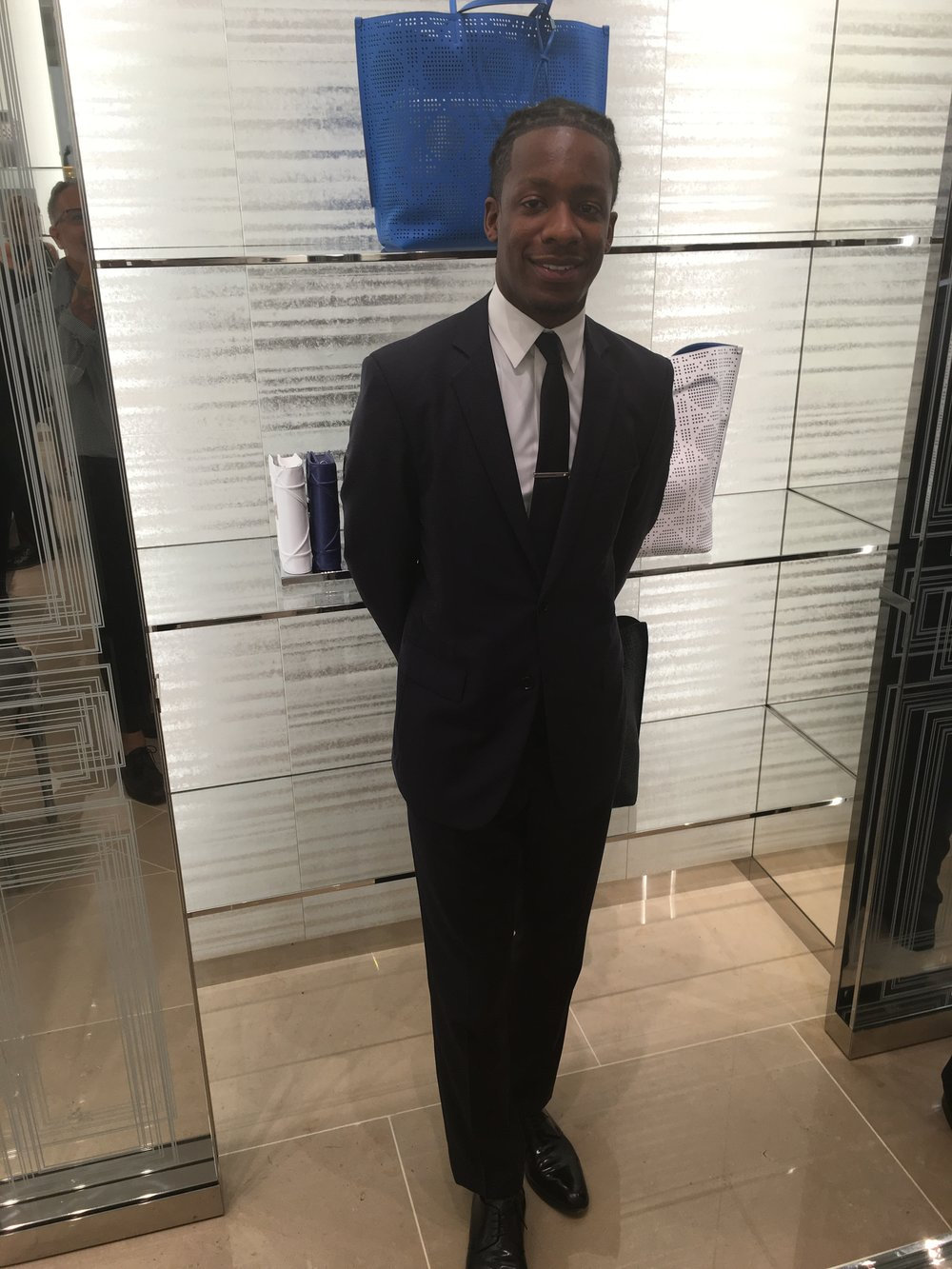 Kalen at Dior will take very good care of you!
