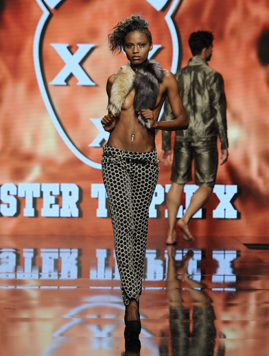 mister triple x la fashion week