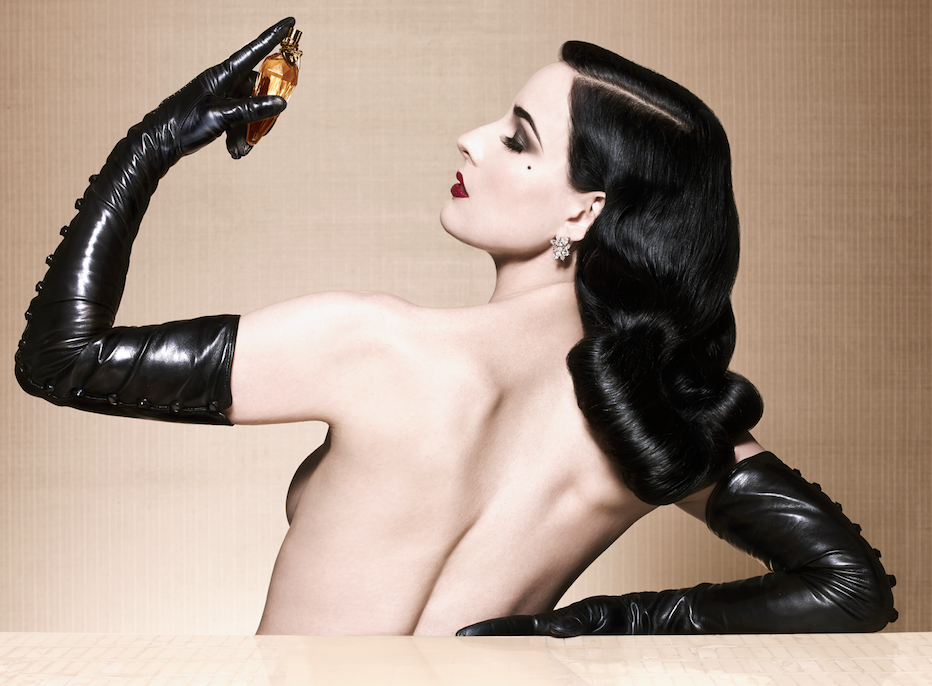 dita von teese the art of the teese fashionado