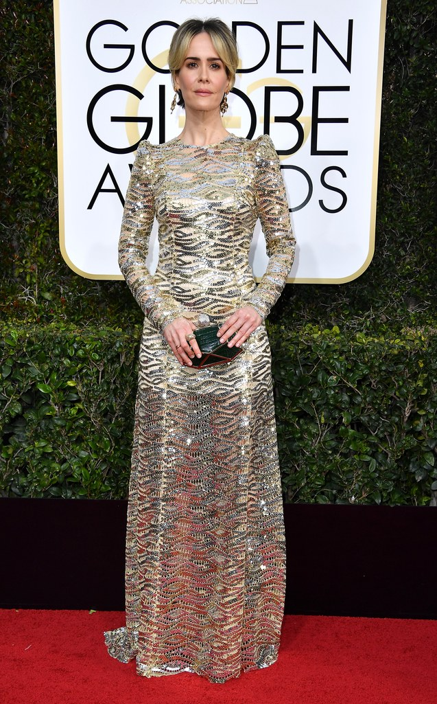 Sarah Paulson in Marc Jacobs