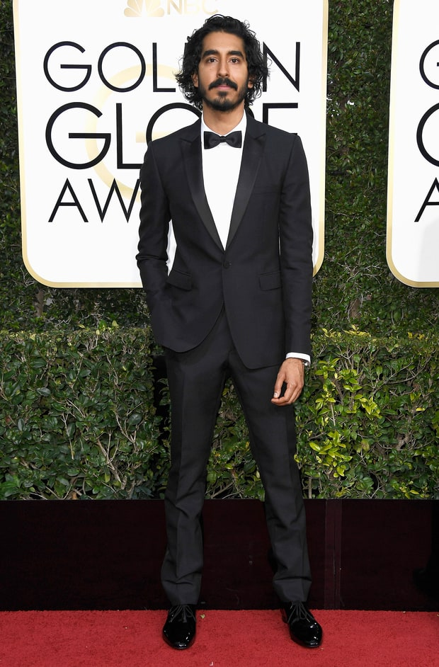 Dev Patel in Burberry