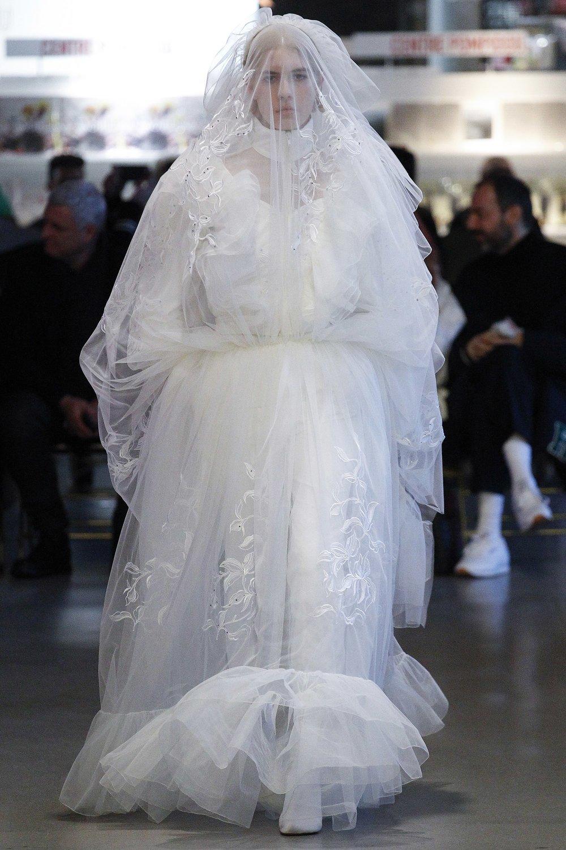 Vetements Fall 2017 bride