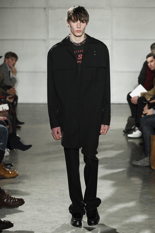 Raf Simons Fall 2017 Menswear