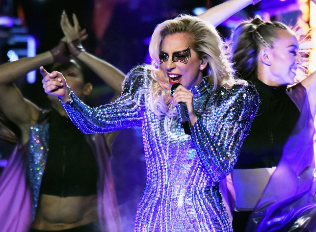 Lady Gaga Super Bowl 2017