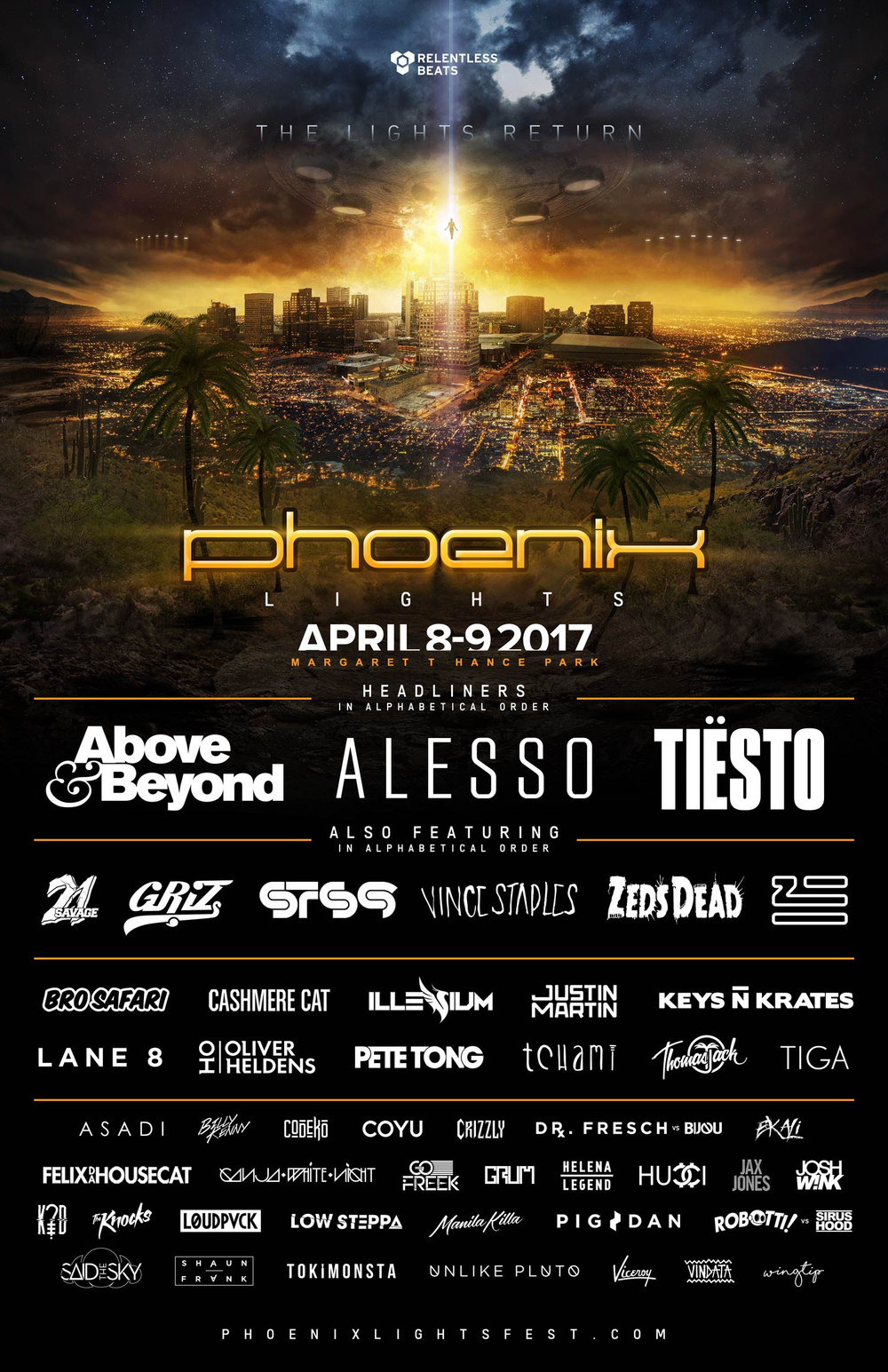 phoenix lights festival 2017