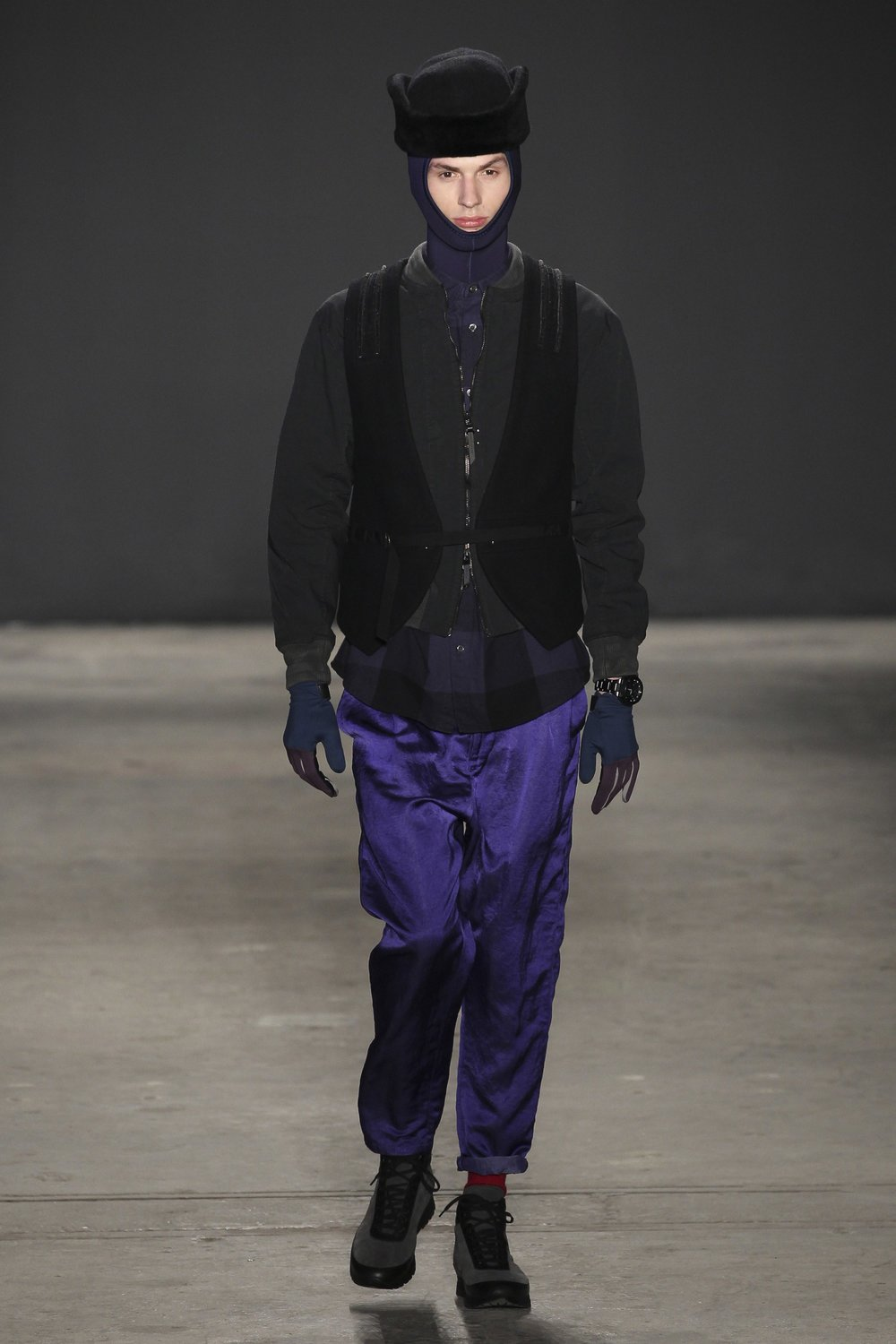 Robert Geller Fall 2017 Menswear