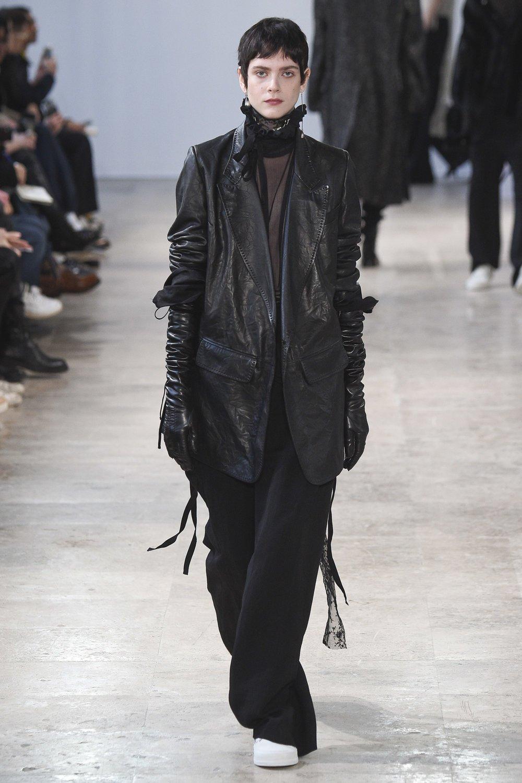 Ann Demeulemeester Fall 2017 Menswear