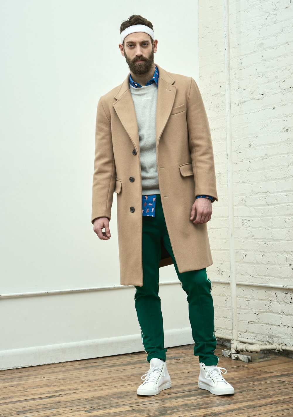 Band of Outsiders Fall 2017 Menswear