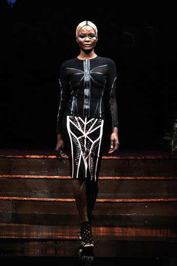 Rosete by Mister Triple X at New York Fashion Week Art Hearts Fashion NYFW FW/17