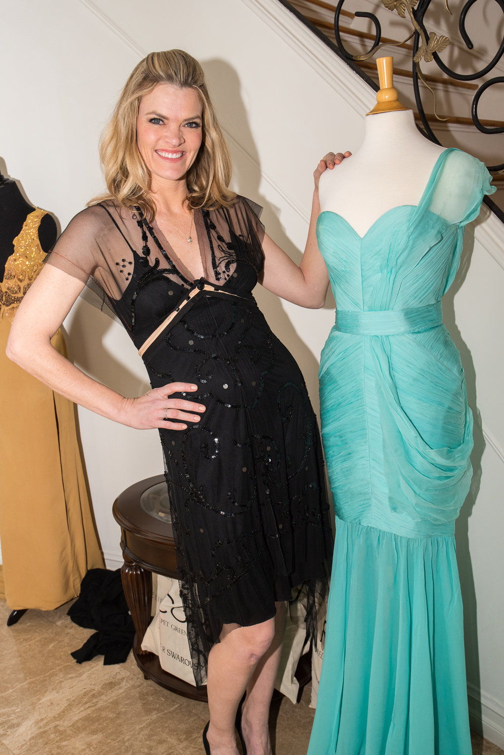 2012 Red Carpet Green Dress Celebrity Ambassador Missi Pyle reminisces her Oscar win next to her memorable sustainable gown.