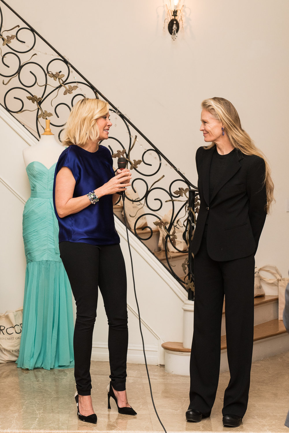 Nadja Swarvoski and Suzy Amis Cameron share their vision for sustainability.
