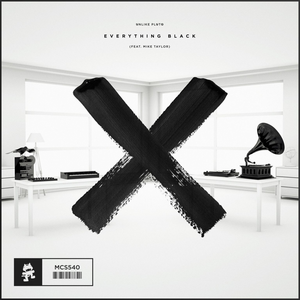 "Unlike Pluto ""Everything Black"" out on Monstercat"