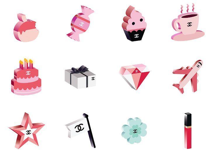 Chanel Emojis