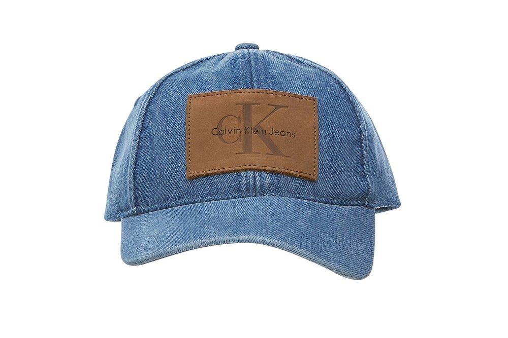 Calvin Klein's Denim Logo Caps