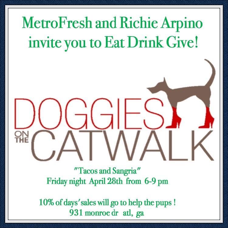 metrofresh doggies on the catwalk