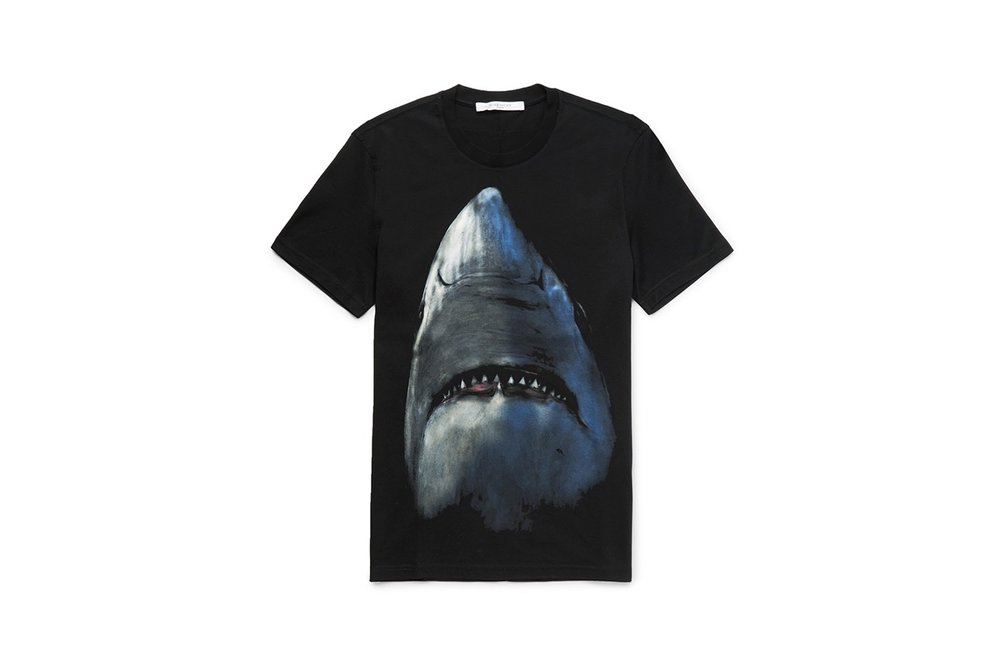 Givenchy Brings Back the Famous Shark Motif