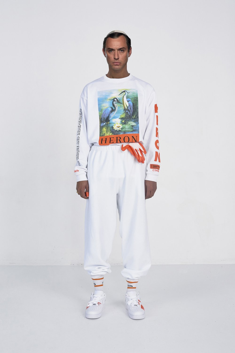 - HERON PRESTON ANNOUNCES GLOBAL RETAIL TOUR FOR HIS DEBUT AW17 COLLECTION The Designer's First Full Collection Will Begin Landing In-Stores Globally On May 20, 2017. Preston Will Move Across Cities To Celebrate The Collection With A Series Of In-Store Events, The First Of Which Will Take Place In Moscow On May 19, 2017.