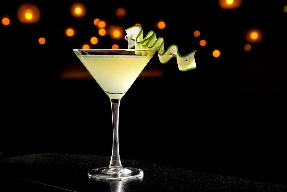 stk cucumber stiletto cocktail