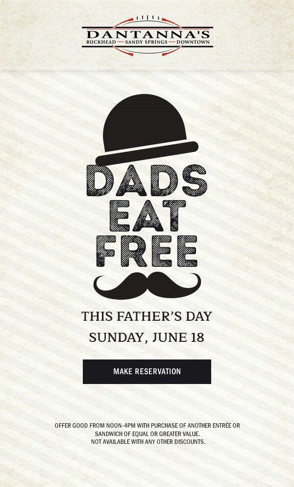 dads eat free