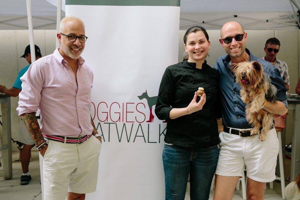 E. Vincent Martinez, Chef Savannah Sasser and Alex Page