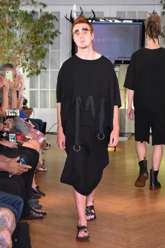 Edison Lu Spring 2018 Menswear