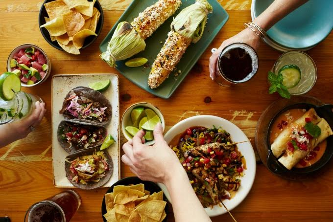 Look for Latin dishes like these at Babalu Restaurant, which just opened on Peachtree Street in Midtown. Photo: Babalu Photography