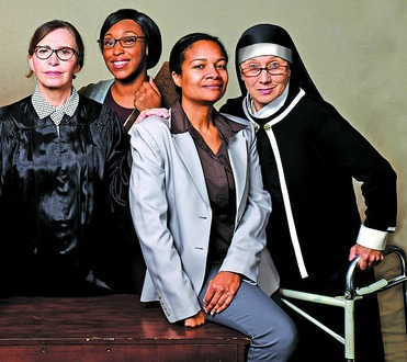 Marianne Fraulo (from left), Christy Clark, Bobbi Lynn Scott, Carolyn Cook. Photo: Greg Mooney