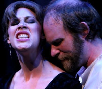Dani Herd (left), Matt Nitchie. Photo: Shakespeare Tavern Playhouse