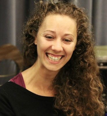 Toronto actor Sochi Fried (in rehearsal) is Izzy, who's stuck on an author, not a purveyor of pickles. Photo: A'riel Tinter