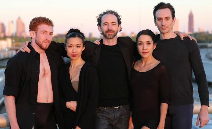 The faces of Terminus Modern Ballet Theatre (from left) Heath Gill, Tara Lee, John Welker, Rachel Van Buskirk and Christian Clark. Photo: Felipe Barral/ArtsATL