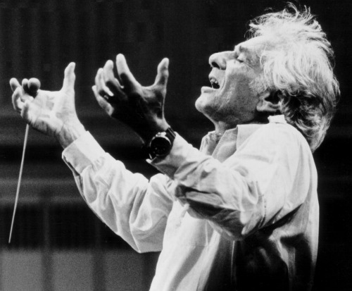 Leonard Bernstein. Photo: Paul de Hueck, courtesy of the Leonard Bernstein office