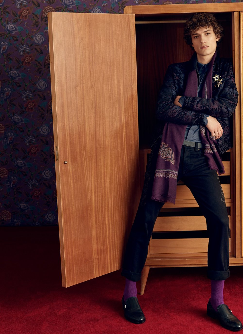 ETRO Fall 2018 Menswear