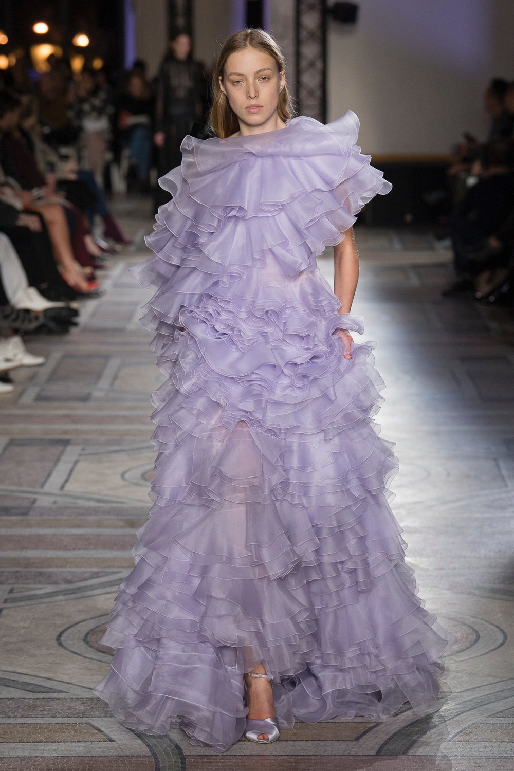 """A lot of people in fashion right now are a little bit scared of beauty. There's a lot of research into intellectual beauty, alternative beauty, a more edgy beauty, to break the rules. But I'm the opposite. I love the idea of something harmonious, sensual, romantic."" - Giambattista Valli"