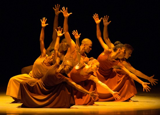 """Revelations"" concludes each Alvin Ailey performance."